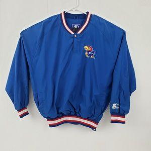Vintage KU Kansas Pullover Jacket